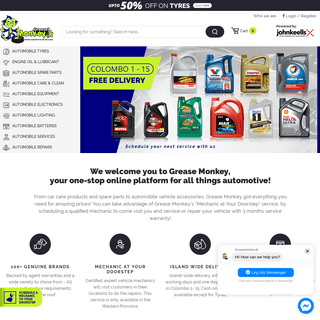 Buy Vehicle, Car & Automobile Accessories & Products Parts in Sri Lanka - Greasemonkey.lk
