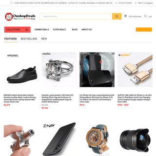 Best Online Imported Shopping Deals Electronics, Fashion, Home & Kitchen, Fitness, Toys, Tools and More By onshopdeals.com