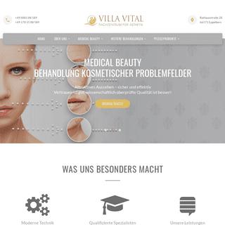 Startseite - Villa Vital