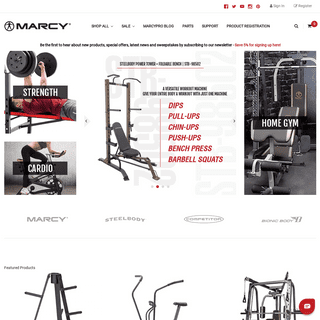 Get the Best Home Exercise Equipment - Marcy Pro