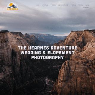 The Hearnes Adventure Photography - Adventure Wedding + Elopement Photographers in Yosemite, Moab, & Alaska