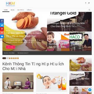 Kênh Thông Tin Tổng Hợp Hữu Ích Cho Mọi Nhà - Hakhuma.Com