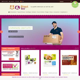 Direct-Vet.be™ - La qualité vétérinaire au tarif du web ! - Direct-Vet.be