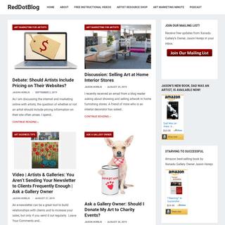 RedDotBlog – Art Business and Marketing News from Xanadu Gallery