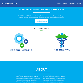 StudyDuniya - UPSC Learning Platform - MPSC Preparation online