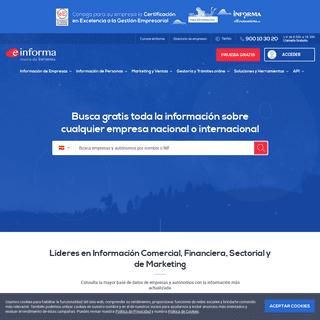 Información de Empresas Españolas - eInforma