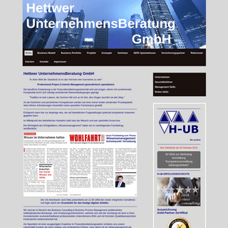 Hettwer UnternehmensBeratung GmbH - PROJEKT Experte - Hettwer UnternehmensBeratung GmbH
