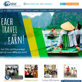 Online TEFL-TESOL Certification Courses, TEFL Jobs, Teacher Training Programmes Training - TEFL Jobs from Global TEFL