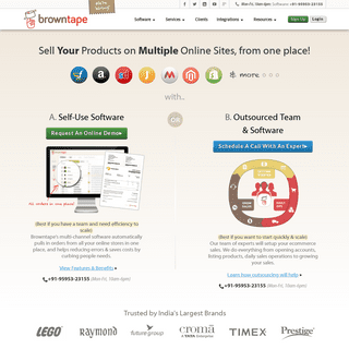ArchiveBay.com - browntape.com - eCommerce Software for Flipkart, Amazon Sellers - Browntape