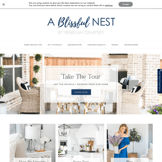 Interior Design, Design Tips, Home Decor Ideas - A Blissful Nest