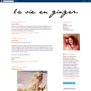 La Vie en Ginger