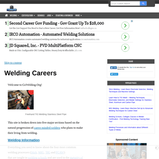 ArchiveBay.com - gowelding.org - Welding Career Information, Schools, Jobs and Business Opportunities!