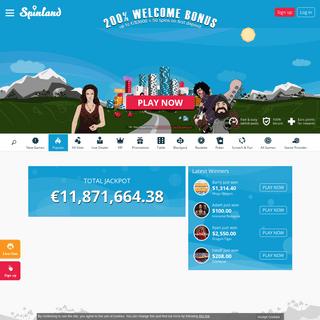 ArchiveBay.com - spinland.com - SpinLand - Online Casino - 200- + 50 Bonus Spins