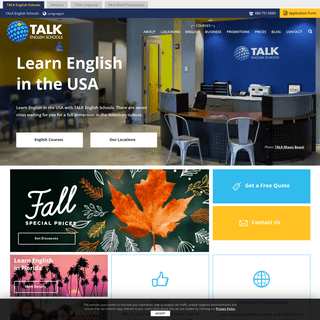 Learn English in the United States - TALK English Schools