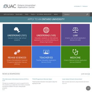 Home - Ontario Universities' Application Centre