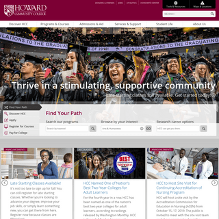 ArchiveBay.com - howardcc.edu - Home - Howard Community College