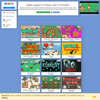 ArchiveBay.com - modd.io - Modd.io - Make IO games. Play IO games