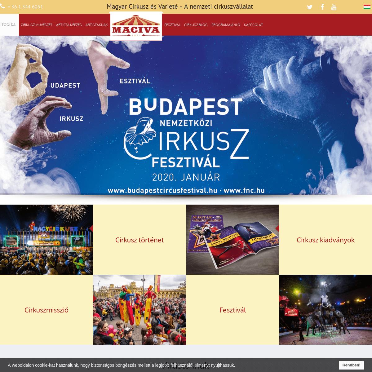 Magyar Cirkusz és Varieté - MACIVA
