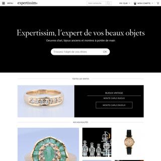 Expertissim - Achat et vente d'objets d'art expertisés