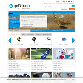 Used golf equipment - Golfbidder- The Official PGA Golf Club Exchange