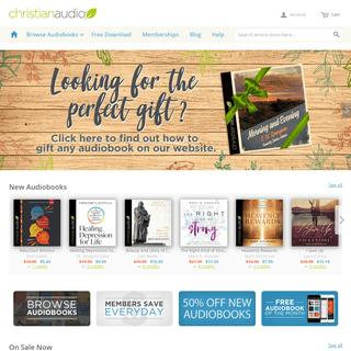 Welcome to christianaudio.com - Christian audiobooks. Try us free.
