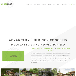 Wheelhaus - Tiny houses - Modular prefab homes and cabins