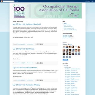 100 Stories of OT Blog
