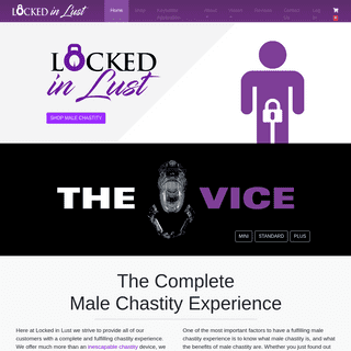 Locked in Lust - The Male Chastity Experience Company