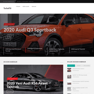 TurboFSI – Lüks otomobil forumu