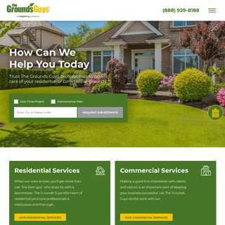 Lawn Care & Landscaping Services - The Grounds Guys