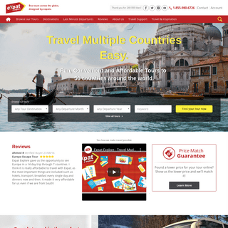 ArchiveBay.com - expatexplore.com - European Vacation Packages - Global Coach Tours - Expat Explore