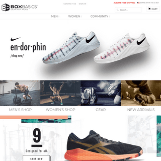 ArchiveBay.com - shopboxbasics.com - Box Basics - Best Shoes, Gear & Clothing for CrossFit Workouts