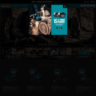 MAKITA - Cordless and Corded Power Tools, Power Equipment, Pneumatics, Accessories