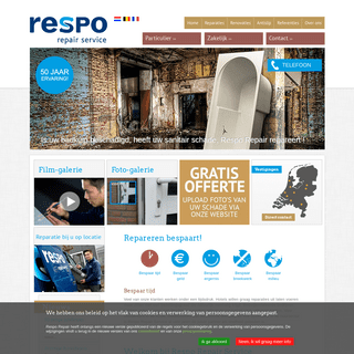 Respo Repair Service schade reparatie renovatie antislip oplossingen
