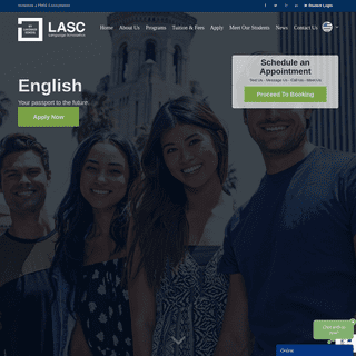 CA ESL School - SEVP Approved - Be English Proficient - LASC