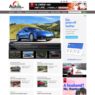 Canadian Car Reviews and Consumer Reports - Autos.ca - Formerly Canadian Driver