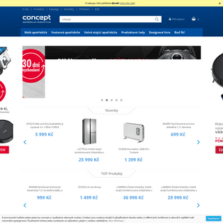Concept – spotřebiče pro skutečný život