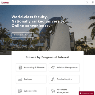 Online Degrees - Florida Institute of Technology - Florida Tech Online