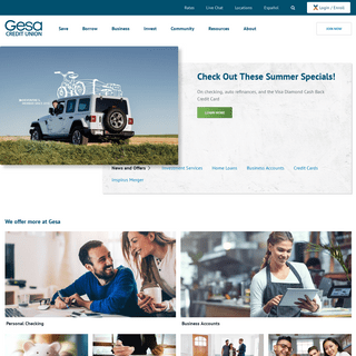 ArchiveBay.com - gesa.com - Home - Gesa Credit Union