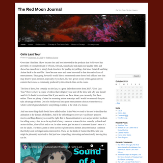 The Red Moon Journal - The View From Fly Over Country