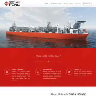 Mahtaab FLNG ( MFLNG ) – as one of the subsidiaries of Mahtaab Group