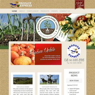 ArchiveBay.com - produceexpress.net - Home - Produce Express of Sacramento, California