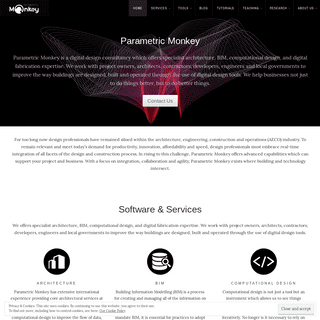 parametricmonkey - ParametricMonkey is a digital design consultancy focused on architecture, BIM, computational design and digit