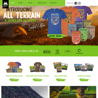 National Parks Merchandise - Nature Bound Apparel Brand & Coffee Truck Nature Bound Co.