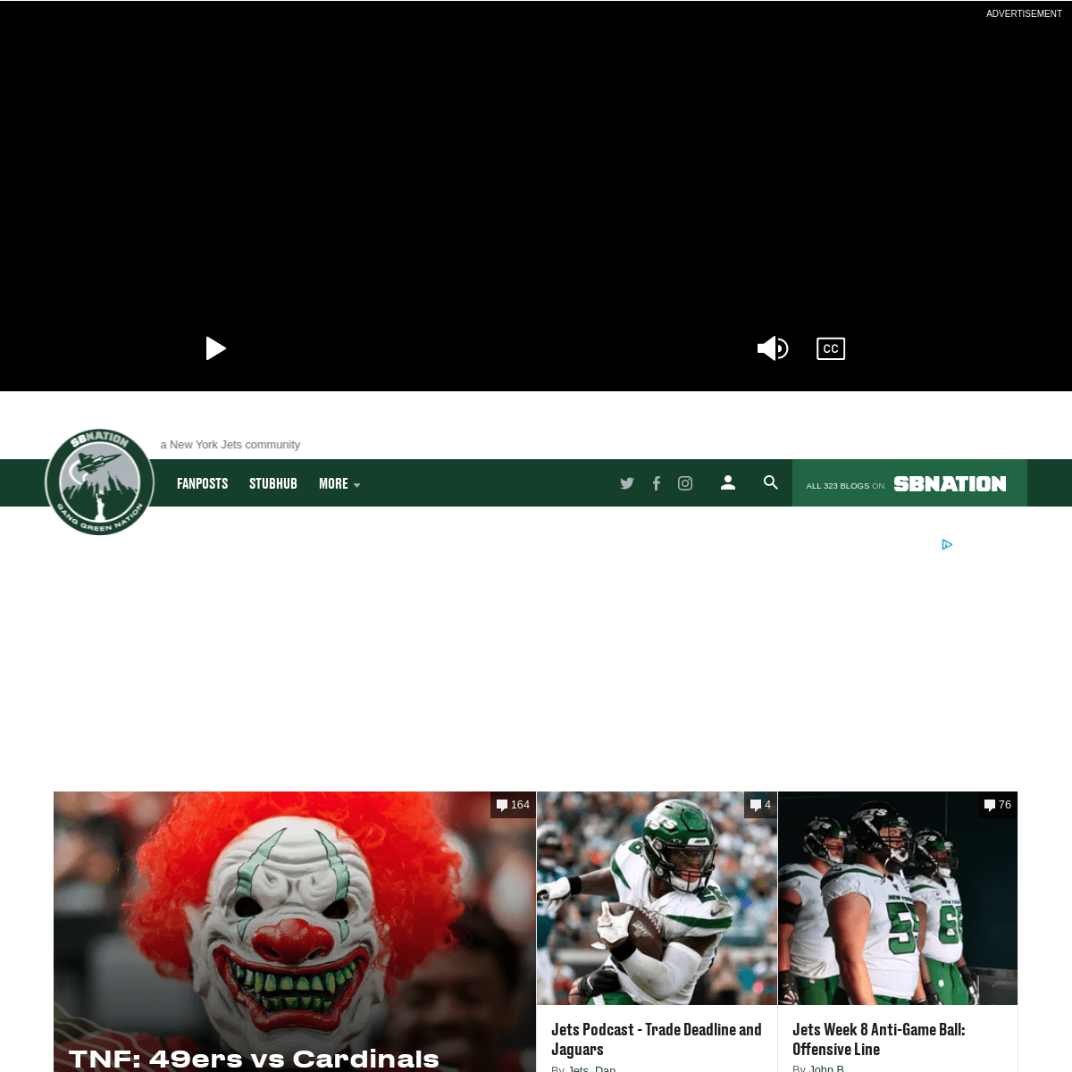 Gang Green Nation, a New York Jets community