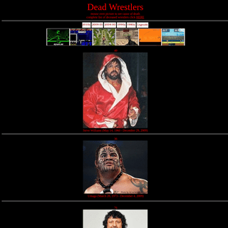 ArchiveBay.com - deadwrestlers.net - Dead Wrestlers List