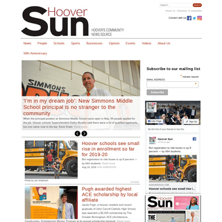 Hoover Sun—Community News for Hoover, Alabama