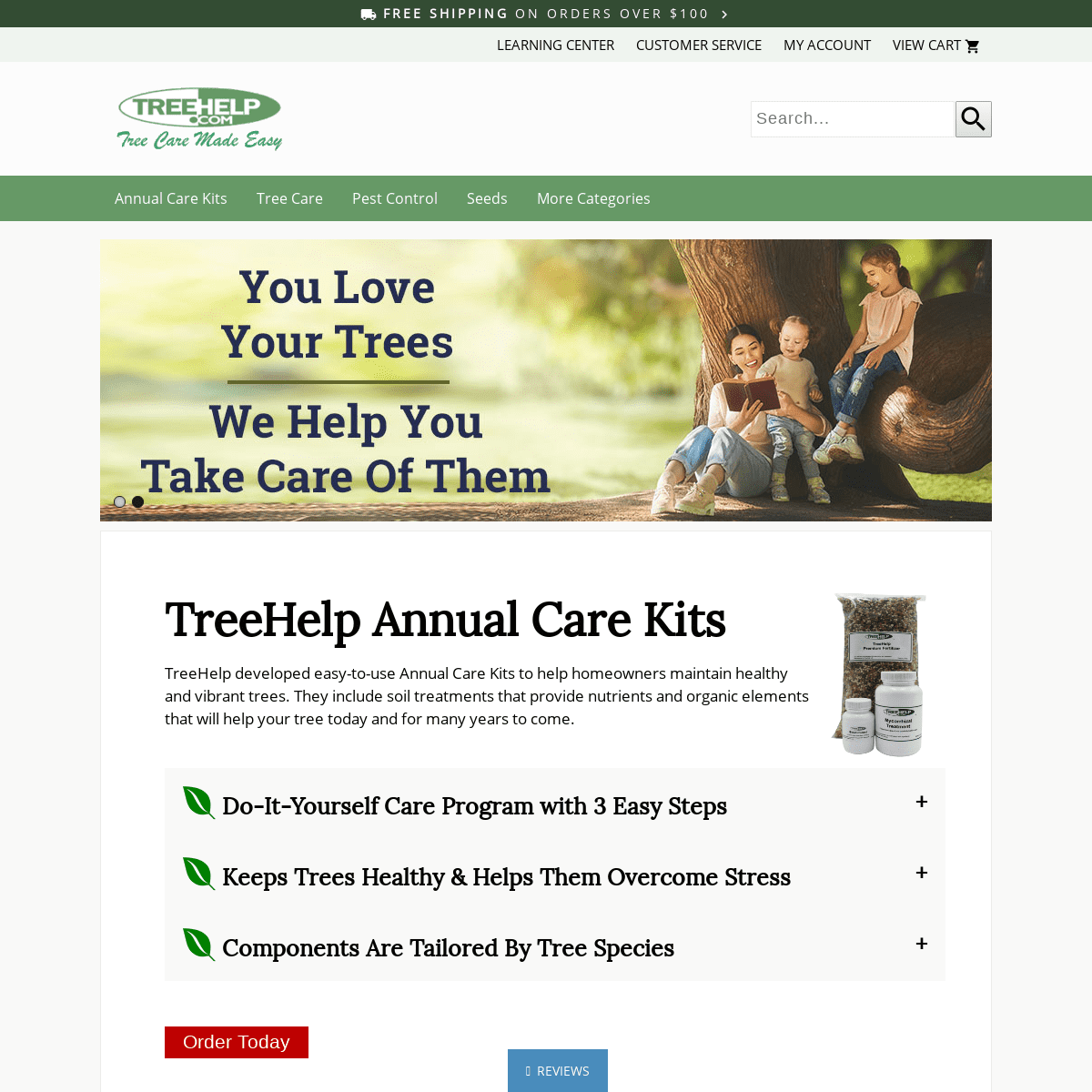 DIY Tree Care Products & Supplies, Tree and Shrub Care Specialist