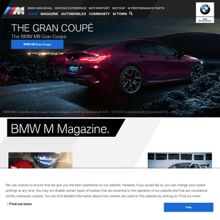 BMW M- Home of high performance cars