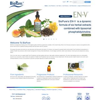 Home - BioPure